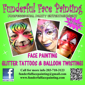 Funderful face painting provides face painting for for Face painting business
