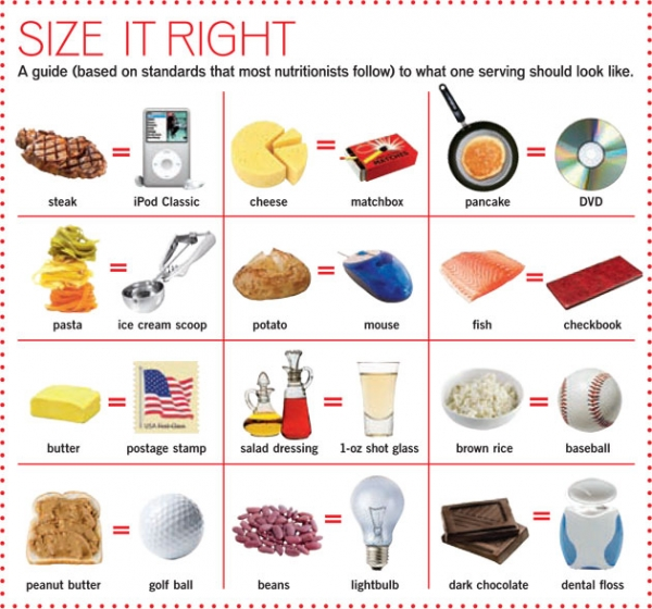What Is The Correct Portion Size?