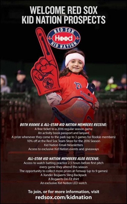 Boston Red Sox: Kids & Family Client Links